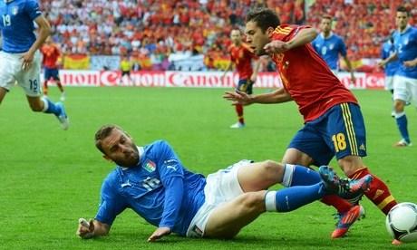 De Rossi Shirt Euro 2012