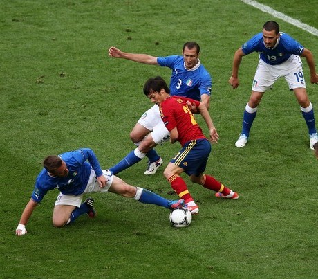 De Rossi Sleeve Spain Italy Euro 2012