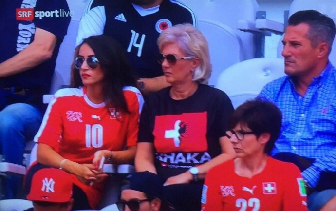 Granit Xhaka Mother Euro 2016