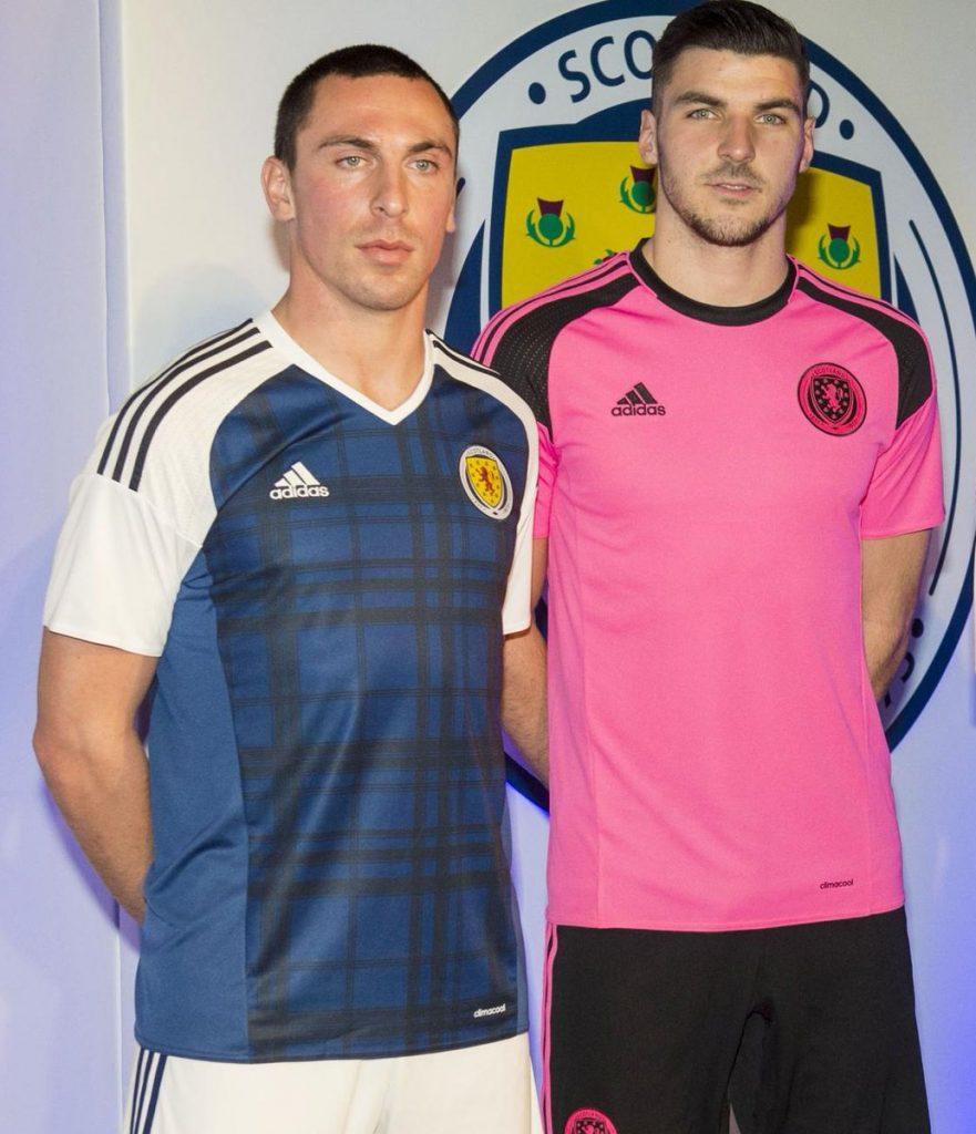 Scotland will wear pink at Wembley