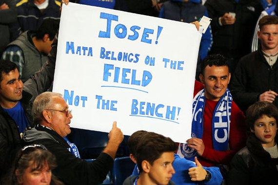 Mata on field banner
