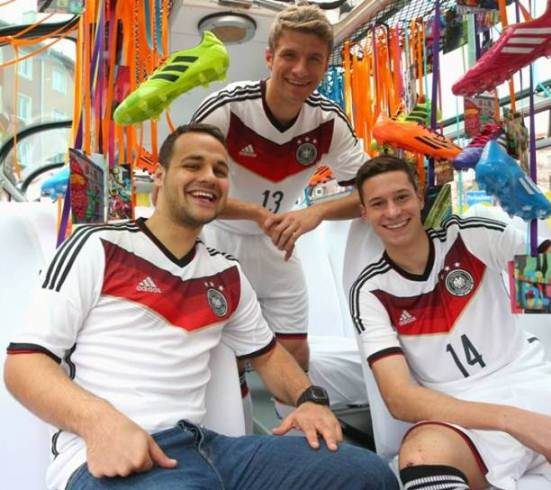 Germany Soccer uniform 2014