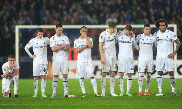 Tottenham Basel penalties