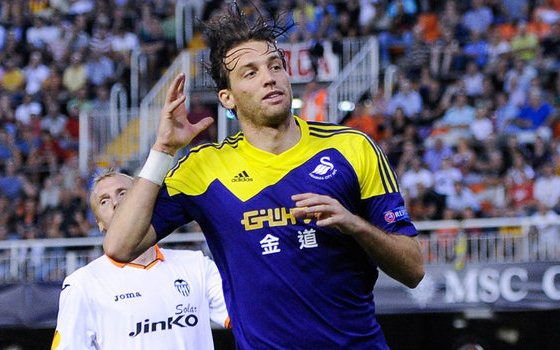 Swansea upset Valencia in Spain