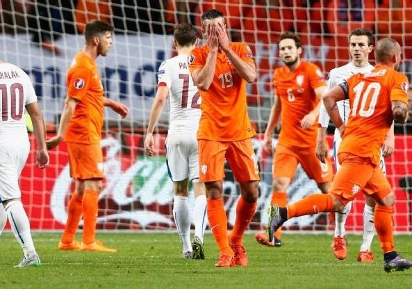 Netherlands failed to qualify for Euro 2016