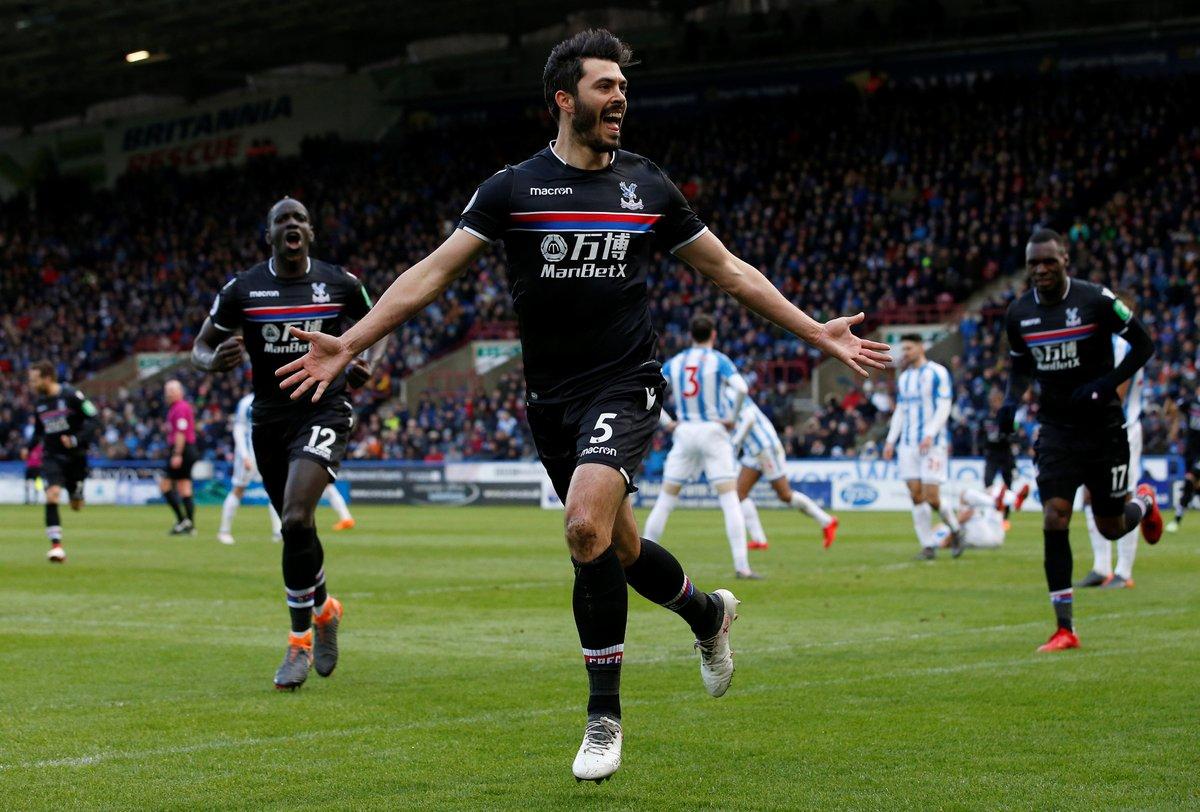 Huddersfield Crystal Palace 2018