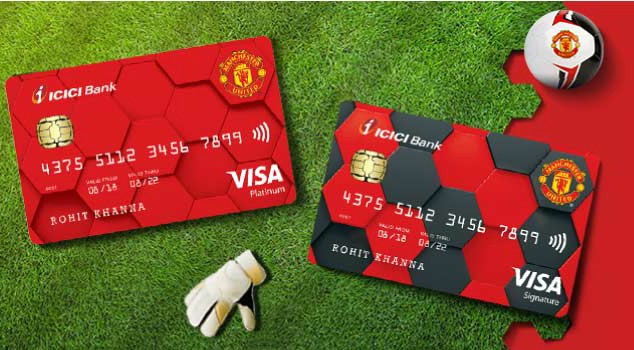 ICICI Manchester United Credit Card