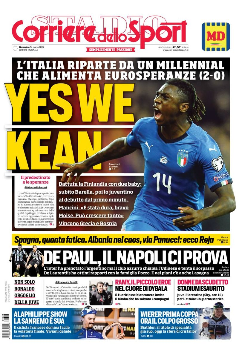 Yes We Kean Corriere Dello