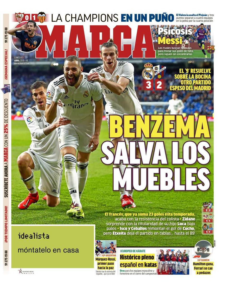 KB goal v Huesca media reaction