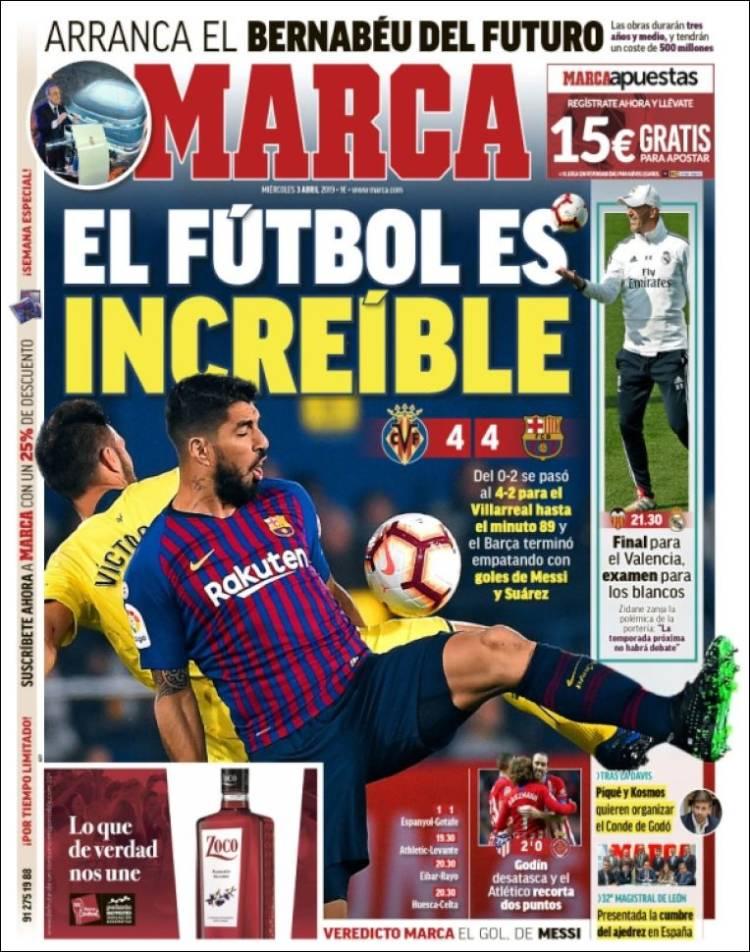 Marca Barca Villarreal